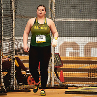 Reagan Fedak, Regina, 2019 U SPORTS Track and Field Championships on Thu Mar 07 at James Daly Fieldhouse. Credit: Arthur Ward/Arthur Images