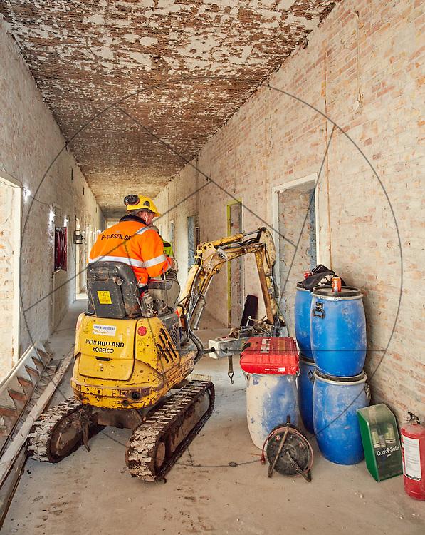 Projekt Bispebjerg, nedrivning af bygning 13, Bispebjerg Hospital projekt bygning 13 nedrivning