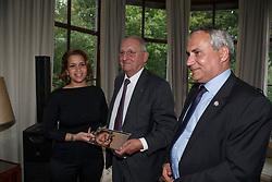 HRH Princess Haya, Jacky Buchmann, Ingmar Devos<br /> Viering 25 jaar voorzitterschap Jacky Buchmann<br /> © Hippo Foto - Dirk Caremans<br /> 08/07/15