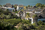 View of the town of Shella, Lamu Island, Kenya, Africa