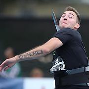Marcin Krukowski, Poland, in action in the Men's Javelin competition during the Diamond League Adidas Grand Prix at Icahn Stadium, Randall's Island, Manhattan, New York, USA. 13th June 2015. Photo Tim Clayton