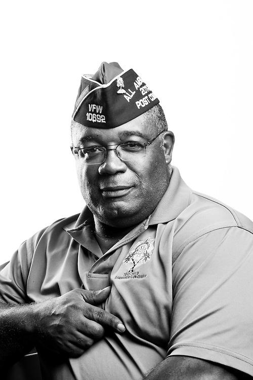 James Holliman<br /> Army<br /> E-7<br /> Chemical Field<br /> Apr. 1, 1982 - Apr. 30, 2006<br /> SWI<br /> Desert Storm<br /> Bosnia<br /> OIF, OEF<br /> <br /> Veterans Portrait Project<br /> St. Louis, MO