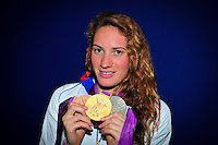 Camille MUFFAT  - 04.08.2012 - Studio - Club France - Jeux Olympiques 2012 - Londres -