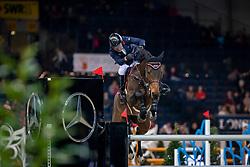 Whitaker Michael, GBR, Strides Hilanasterne<br /> Stuttgart - German Masters 2018<br /> © Hippo Foto - Stefan Lafrentz