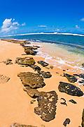 Larsen's Beach, North Shore, Island of Kauai, Hawaii