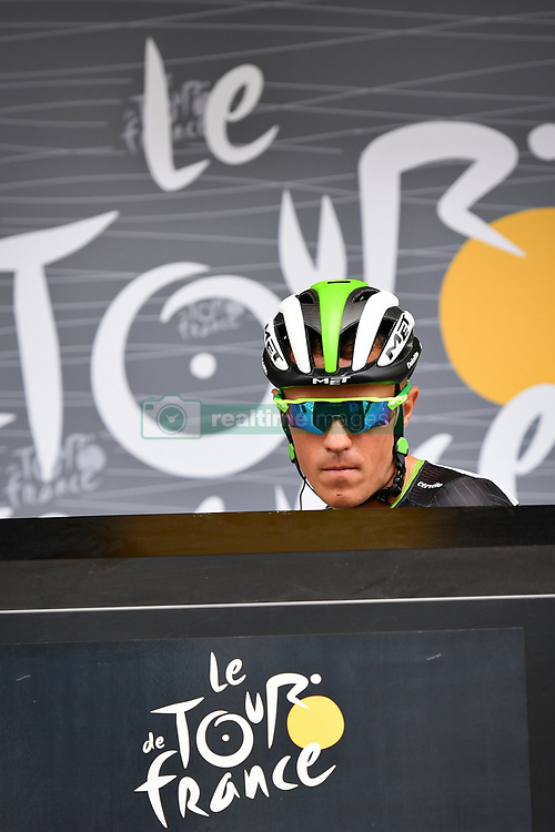 July 14, 2017 - Peyragudes, FRANCE - Belgian Serge Pauwels of Dimension Data at the start of the 12th stage of the 104th edition of the Tour de France cycling race, 214,5km from Pau to Peyragudes, France, Thursday 13 July 2017. This year's Tour de France takes place from July first to July 23rd. BELGA PHOTO POOL PAPON L'equipe (Credit Image: © Pool Papon L'Equipe/Belga via ZUMA Press)
