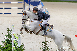 RÖTHLISBERGER Marc (SUI), Cashmere BS<br /> Genf - CHI Geneve Rolex Grand Slam 2019<br /> Prix des Communes Genevoises<br /> 2-Phasen-Springen<br /> International Jumping Competition 1m50<br /> Two Phases: A + A, Both Phases Against the Clock<br /> 13. Dezember 2019<br /> © www.sportfotos-lafrentz.de/Stefan Lafrentz