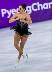 23-02-2018 KOR: Olympic Games day 14, PyeongChang<br /> Ladies Single Skating Free Skating / Bronze medal for Kaetlyn Osmond CAN