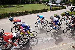 Malgorzata Jasinska (POL) in the bunch at Boels Ladies Tour 2019 - Stage 1, a 123 km road race from Stramproy to Weert, Netherlands on September 4, 2019. Photo by Sean Robinson/velofocus.com