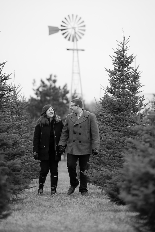 Maia & Clay pictured at Mr. Tree in Blacklick, Ohio.
