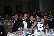 STELIOS HAJI-LOANNOU and MISS DANA MALMSTROM . Conde Nast Traveller Tsunami Appeal dinner. Four Seasons  Hotel. Hamilton Place, London W1. 2 March 2005. ONE TIME USE ONLY - DO NOT ARCHIVE  © Copyright Photograph by Dafydd Jones 66 Stockwell Park Rd. London SW9 0DA Tel 020 7733 0108 www.dafjones.com