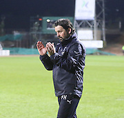 Dundee manager Paul Hartley - Dundee v Dundee United - SPFL Premiership at Dens Park<br /> <br />  - &copy; David Young - www.davidyoungphoto.co.uk - email: davidyoungphoto@gmail.com