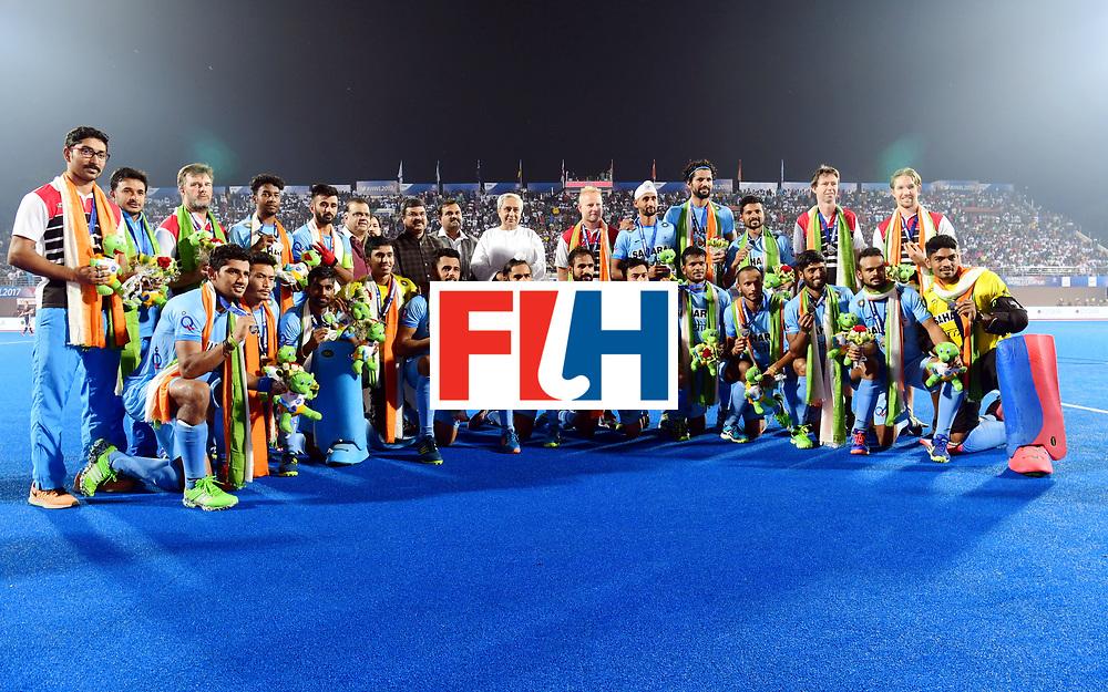 Odisha Men's Hockey World League Final Bhubaneswar 2017<br /> Match id:21<br /> India v Germany<br /> Foto:<br /> COPYRIGHT WORLDSPORTPICS FRANK UIJLENBROEK