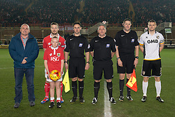 Mascots - Photo mandatory by-line: Dougie Allward/JMP - Mobile: 07966 386802 - 10/02/2015 - SPORT - Football - Bristol - Ashton Gate - Bristol City v Port Vale - Sky Bet League One