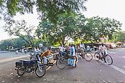 Small town of Sewagram in Wardha, Maharasthra, India