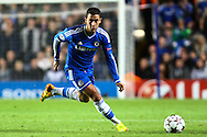 Picture by Daniel Chesterton/Focus Images Ltd +44 7966 018899<br /> 18/09/2013<br /> Eden Hazard of Chelsea on the ball during the UEFA Champions League match at Stamford Bridge, London.