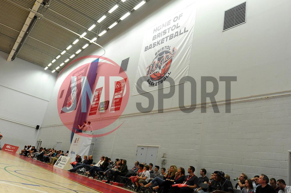 Bristol Flyers - Photo mandatory by-line: Dougie Allward/JMP - Mobile: 07966 386802 - 11/10/2014 - SPORT - Basketball - Bristol - Wise Campus - Bristol Flyers v Plymouth Raiders - British Basketball Cup