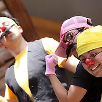 Toluca, Mex.- Erase una vez… la Independencia  de  José Antonio Flores, es una obra de teatro para chicos y grandes  en donde de forma divertida se conoce un poco más de la historia de nuestro país, en este caso, la Independencia de México, una forma de estudiar historia a través del teatro, 6 actores en escena conforman el reparto de esta obra que se presenta todos los domingos en el Museo de la Acuarela. Agencia MVT / Crisanta Espinosa. (DIGITAL)<br /> <br /> NO ARCHIVAR - NO ARCHIVE