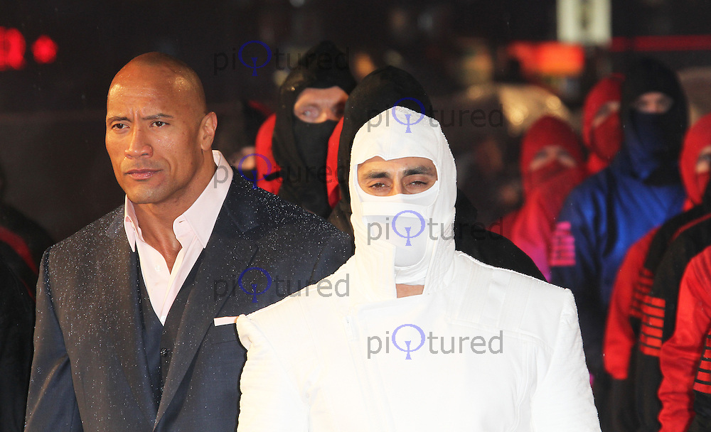 Dwayne Johnson, G.I. Joe Retaliation UK Film Premiere, Empire Cinema Leicester Square, London UK, 18 MArch 2013, (Photo by Richard Goldschmidt)