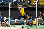 January 13, 2018 - Johnson City, Tennessee - MSHA Mini-Dome: Jordan Scott<br /> <br /> Image Credit: Dakota Hamilton/ETSU