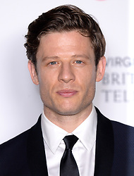 James Norton in the press room during the Virgin Media BAFTA TV awards, held at the Royal Festival Hall in London. Photo credit should read: Doug Peters/EMPICS