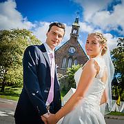 Emma och Anders Alös bröllop 27 augusti 2016