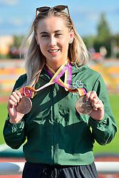 Paralympics Ireland Medalist Orla Comerford, T13, IRE at the Berlin 2018 World Para Athletics European Championships