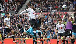 Darren Bent of Derby County scores his sides first goal - Mandatory by-line: Jack Phillips/JMP - 23/04/2016 - FOOTBALL - iPro Stadium - Derby, England - Derby County v Sheffield Wednesday - Sky Bet Championship