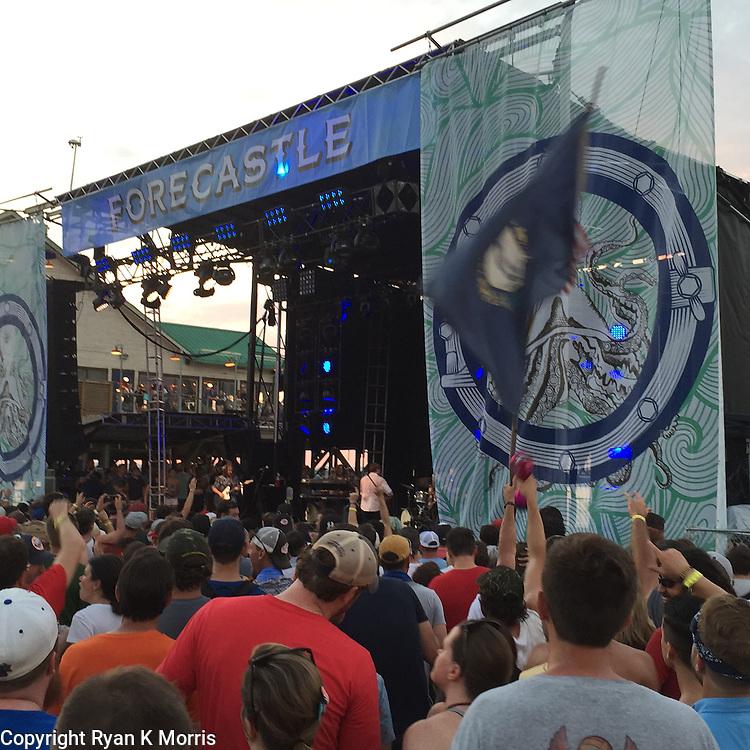 Forecastle Festival in Louisville, Kentucky <br />