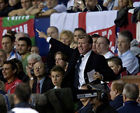 Photo: Jed Wee.<br /> England v Greece. International Friendly. 16/08/2006.<br /> <br /> England manager Steve McClaren's first game is a resounding success.