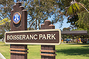 Boisseranc Park of Buena Park in Orange County
