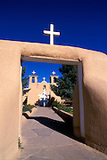 San Francisco de Asis Mission Church, Rancho de Taos, New Mexico USA