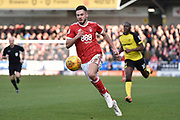 Nottingham Forest striker Ben Brereton (17) during the EFL Sky Bet Championship match between Burton Albion and Nottingham Forest at the Pirelli Stadium, Burton upon Trent, England on 17 February 2018. Picture by Richard Holmes.