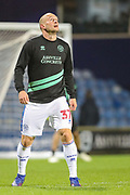 Queens Park Rangers defender Toni Leistner (37) warms up prior to the EFL Sky Bet Championship match between Queens Park Rangers and Rotherham United at the Loftus Road Stadium, London, England on 13 March 2019.