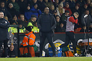 West Bromwich Albion Manager Darren Moore  during the EFL Sky Bet Championship match between Sheffield United and West Bromwich Albion at Bramall Lane, Sheffield, England on 14 December 2018.