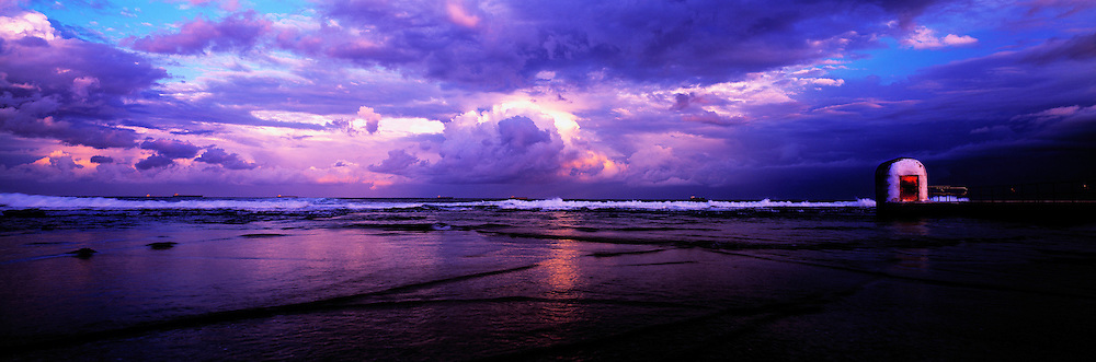 Storm Clouds, Merewether Ocean Baths, Merewether, Newcastle, NSW, Australia,