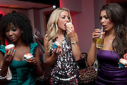 NATASHA NCUBE; ALICE TAYLOR; CHARLOTTE CAMPBELL, Miss Great Britain - anniversary event. The Red Room, Les Ambassadeurs Club, 5 Hamilton Place, London W1 18 August 2010. -DO NOT ARCHIVE-© Copyright Photograph by Dafydd Jones. 248 Clapham Rd. London SW9 0PZ. Tel 0207 820 0771. www.dafjones.com.