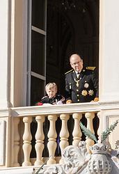 November 19, 2019, Monaco, Monaco: 19-11-2019 Monte Carlo Prince Jacques and Prince Albert II of Monaco during the Monaco national day celebrations in Monaco. (Credit Image: © face to face via ZUMA Press)