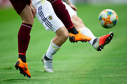 Football shoes during Football match between NK Triglav and NK Maribor in 25th Round of Prva liga Telekom Slovenije 2018/19, on April 6, 2019, in Sports centre Kranj, Slovenia. Photo by Vid Ponikvar / Sportida