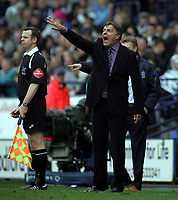 Photo: Paul Thomas.<br /> Bolton Wanderers v Everton. The Barclays Premiership. 09/04/2007.<br /> <br /> Sam Allardyce, Bolton manager.