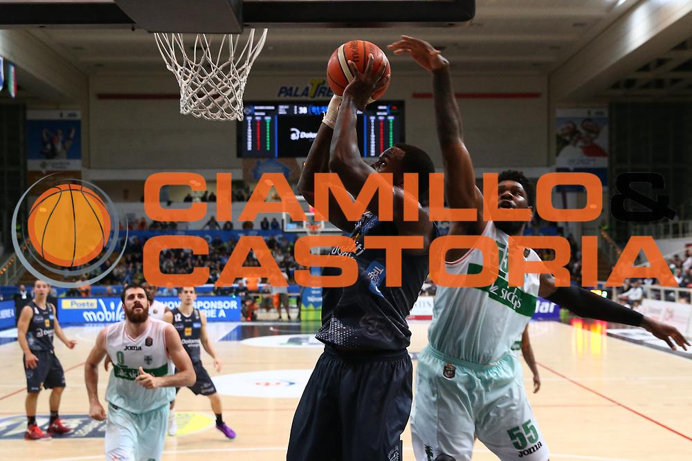 Hogue Dustin<br /> Dolomiti Energia Trentino vs Sidigas Avellino<br /> Lega Basket Serie A 2016/2017<br /> Trento, 07/05/2017<br /> Foto Ciamillo-Castoria/A. Gilardi