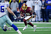 ARLINGTON, TX - NOVEMBER 22:  Josh Doctson #19 of the Washington Redskins runs the ball during a game against the Dallas Cowboys at AT&T Stadium on November 22, 2018 in Arlington, Texas.  The Cowboys defeated the Redskins 31-23.  (Photo by Wesley Hitt/Getty Images) *** Local Caption *** Josh Doctson