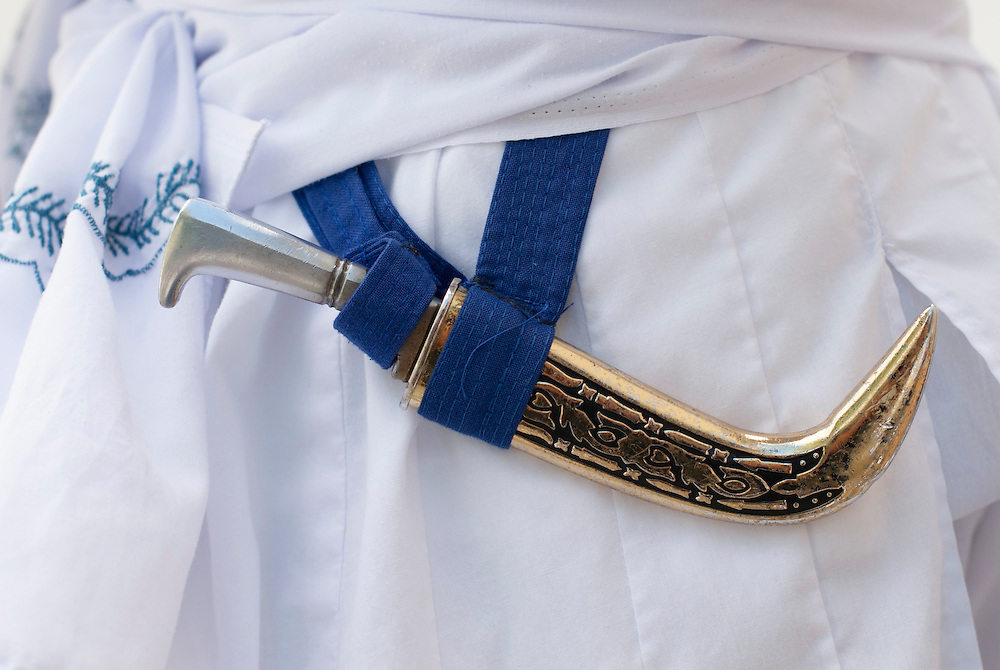 The kirpan is a ceremonial sword or dagger carried by baptised Sikhs.<br />