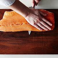 make beet cured salmon
