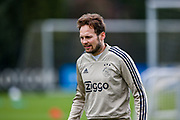 Ajax defender Daley Blind (17) during the Ajax training session ahead of the Champions League 2nd leg semi-final against Tottenham Hotspur at the Sportpark De Toekomst, Amsterdam, Netherlands on 7 May 2019.