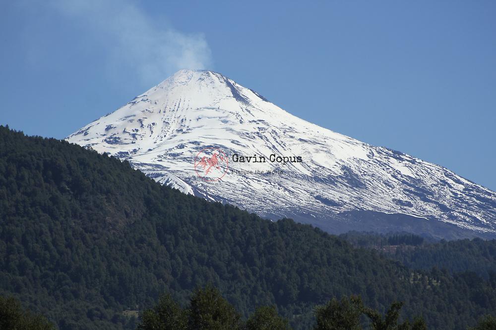 Volcano, Villarrica, Chile, Patagonia, Pucon