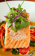 Food Photography Image of Salmon.