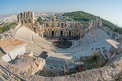 Theatre of Dionysus Eleuthereus, Pathenon, Acropolis, Athens, Greece