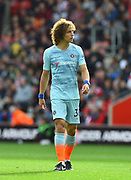 David Luiz (30) of Chelsea during the Premier League match between Southampton and Chelsea at the St Mary's Stadium, Southampton, England on 7 October 2018.