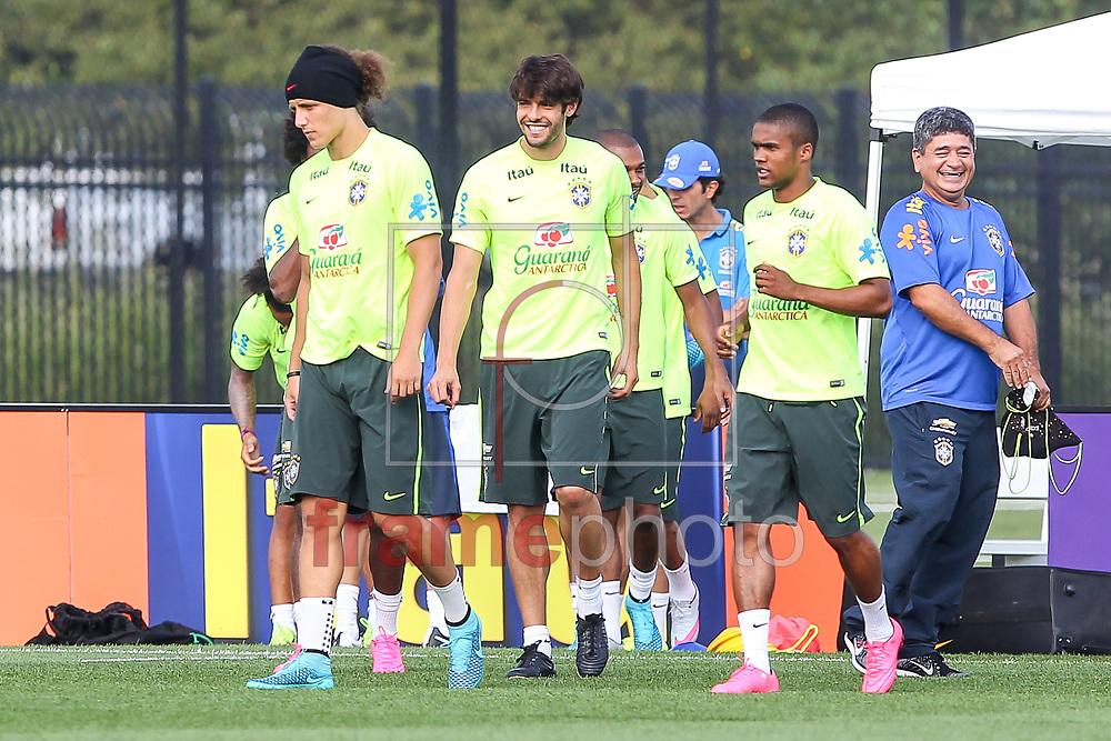 Nova Jersey, EUA - 01/09/2015 - Segundo dia de treino da seleção Brasileira no centro de treinamento do NY Red Bulls  Foto: Wagner AZ /Frame